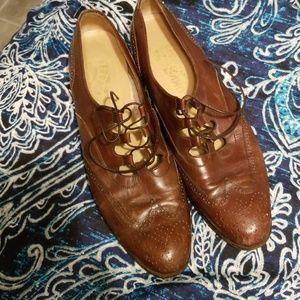 Vintage Salvatore Ferragamo women shoes size 9.5 N